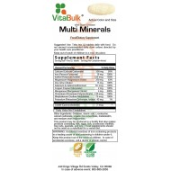 Multi Minerals Tablet - 200 count
