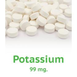 Potassium - 125 count