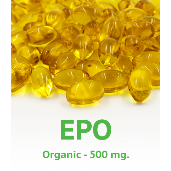 Organic Evening Primrose Oil 500 mg 100 capsules