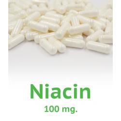 Niacin - 100mg - 100 capsules
