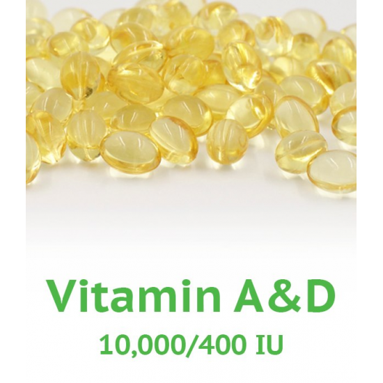 Vitamin A&D - 100 count